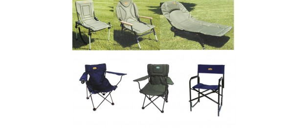 Sillas y Bedchairs Carpfishing